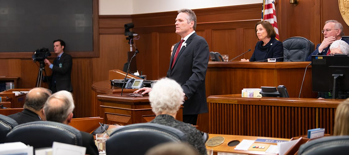Governor Dunleavy Delivering 2020 State of the State Address